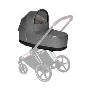 Cybex PLATINUM Tragewanne Plus PRIAM Lux  manhattan grey