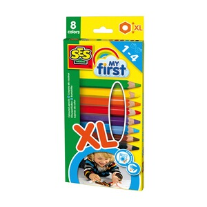 SESmy firstDicke Buntstifte XL 1