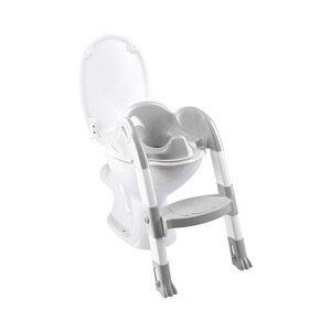 FunnyToiletten-Trainer Kiddyloo  Cool grey/White 1