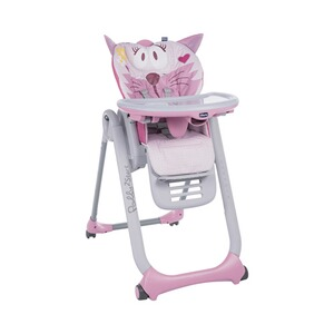 Chicco  Hochstuhl Polly 2 Start  miss pink