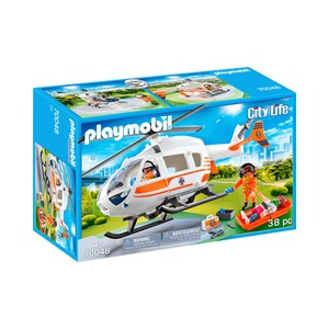 Playmobil®CITY LIFE70048 Rettungshelikopter 1