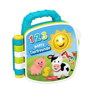 Fisher-Price  Liederbuch Tierfreunde