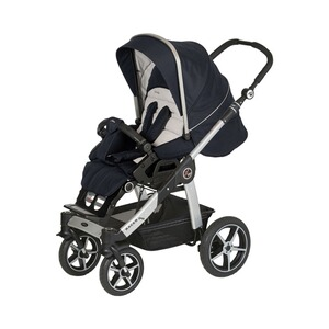 Hartan  Racer GTS Kinderwagen  navy stripes