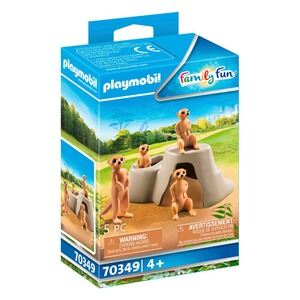 Playmobil®FAMILY FUN70349 Erdmännchenkolonie 1