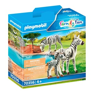Playmobil®FAMILY FUN70356 2 Zebras mit Baby 1