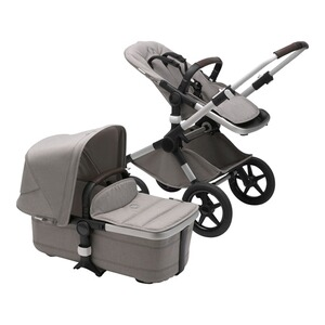 Bugaboo FOX 2 Kombikinderwagen Mineral Kollektion  alu/light grey