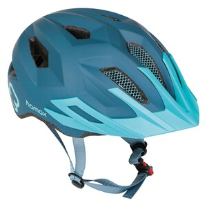 hamax  Fahrradhelm Flow with rear light  blue/turquoise