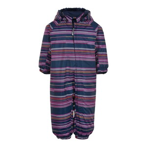 Colorkids  Schneeoverall mit abnehmbarer Kapuze  marine/rosa