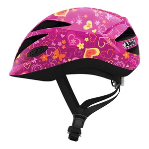 ABUS  Fahrradhelm Hubble 1.1  purple flower