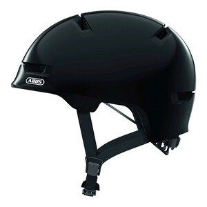 ABUSFahrradhelm Scraper 3.0 Kid  shiny black 1