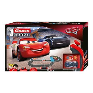 Carrera DISNEY CARS 3 Auto-Rennbahn Carrera First - Disney Pixar Cars