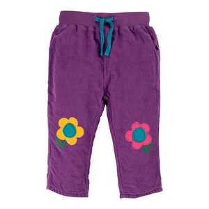 Frugi  Cordhose Blumen Knee Patch