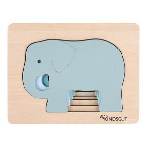 KindsgutTier-Puzzle Elefant 1