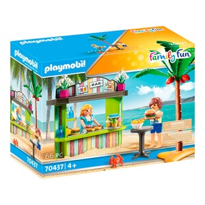 Playmobil®FAMILY FUN70437 Strandkiosk 1