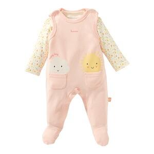 BOBORA Baby M/ädchen Strampler mit Hemden Baumwolle f/ür Schwestern und Br/üder 7 Jahre