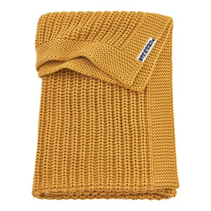 MeycoBabydecke Herringbone 100x150 cm  honey gold 1