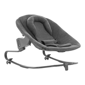 Hauck  Babywippe Alpha Bouncer Premium  Jersey charcoal