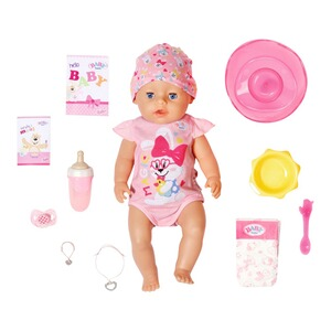 Zapf Creation BABY BORN Puppe Magic Girl 43cm
