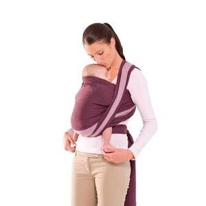 AMAZONAS TREND LINE Babytragetuch Carry Sling 510cm  brombeer/rosa