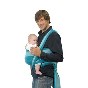 AMAZONAS TREND LINE Babytragetuch Carry Sling 510cm  petrol/türkis