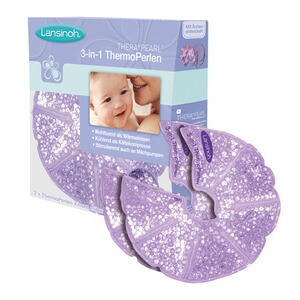 LANSINOH  2er-Pack Thera°Pearl® 3-in-1 ThermoPerlen  lila
