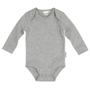 Bornino BASICS Body langarm  grau