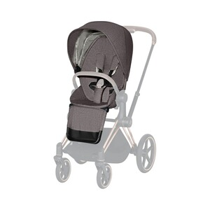 Cybex PLATINUM Sitzpaket Plus für Priam  manhattan grey