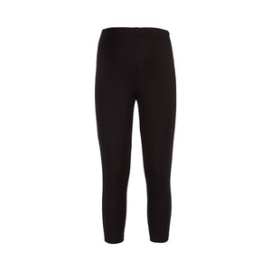 2hearts WE LOVE BASICS Umstands-Capri-Leggings  schwarz