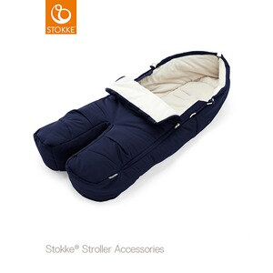 Stokke®  Winter-Fußsack für Kinderwagen Xplory, Trailz  deep blue