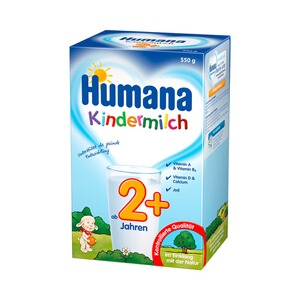 HUMANA  Kindermilch 2+ 550g