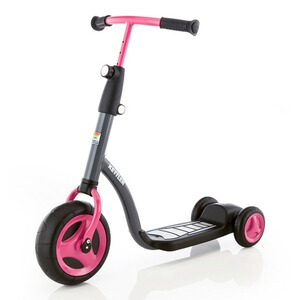 KETTLER  La trottinette Kid's Scooter  anthracite/rose vif
