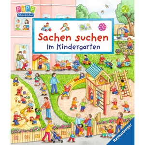 ravensburger pappbilderbuch sachen suchen im kindergarten online kaufen baby walz. Black Bedroom Furniture Sets. Home Design Ideas