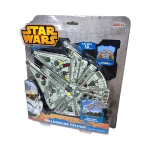 STAR WARS Wurfgleiter Super Flyer Millennium Falcon