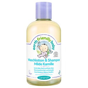 LANSINOH EARTH FRIENDLY BABY Waschlotion & Shampoo Milde Kamille 250 ml