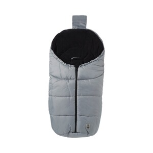 BABYCAB  Winter-Fußsack Eco small für Kinderwagen, Babyschale  grau
