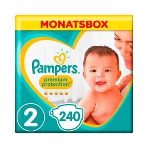 PAMPERS  Premium Protection Windeln Gr. 2 4-8 kg Monatsbox 240 St.