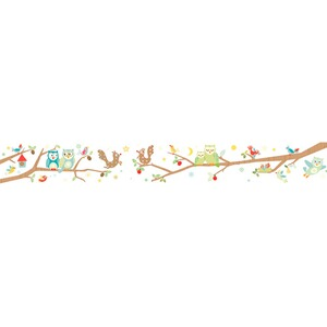 ANNA WAND DESIGN  Bordüre Funny Forest 4,5x0,11 m