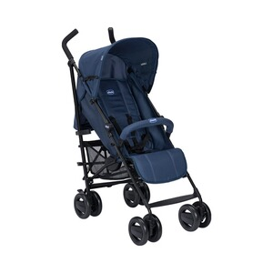 Chicco  London Up Buggy mit Liegefunktion und faltbarem Frontbügel  blue Passion