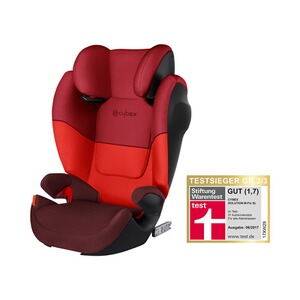 Cybex SILVER Solution M-Fix SL Kindersitz  Rumba Red