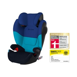 CYBEX SILVER Solution M-Fix SL Kindersitz  Blue Moon