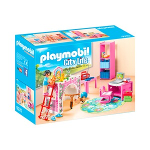 Playmobil city life 9270 fr hliches kinderzimmer online for Kinderzimmer play 01