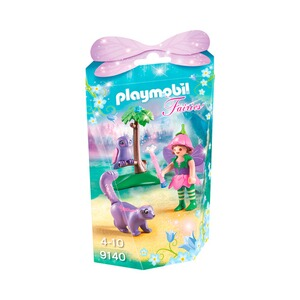 PLAYMOBIL® FAIRIES 9140 Feenfreunde Eule & Stinktierchen