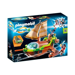 PLAYMOBIL® SUPER 4 9000 Piraten-Chamäleon mit Ruby