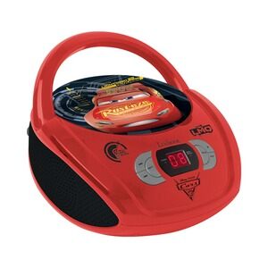 LEXIBOOK DISNEY CARS 3 Radio CD Player Boombox