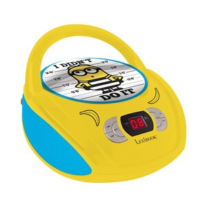 LEXIBOOK MINIONS Radio CD Player Boombox