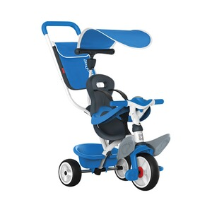 SMOBY  Le tricycle Baby Balade  bleu