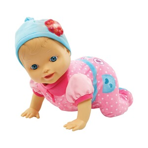 VTECH LITTLE LOVE Puppe Krabbel-mit-mir-Lilly