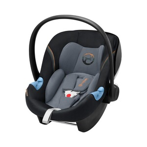 CYBEX GOLD Aton M i-Size Babyschale  Pepper Black