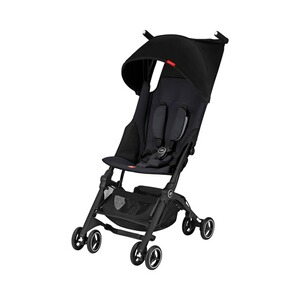 GB GOLD Pockit+ Buggy mit Liegefunktion  Satin Black