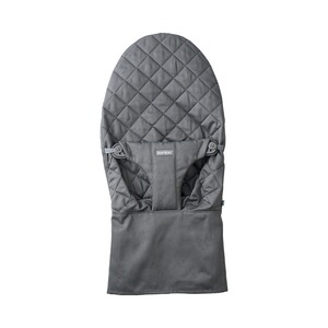 BabyBjörn  Stoffsitz für Wippe Bliss Cotton  Anthracite grey